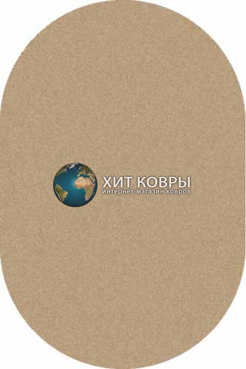 Российский ковер  овальный Platinum t600 бежевый d